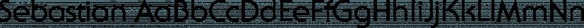 Sebastian font family by FontSite Inc.