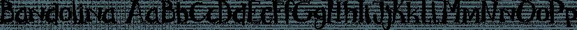 Bandolina font family by Hanoded