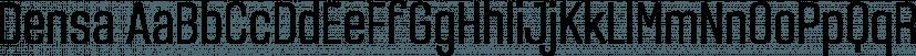 Densa font family by Graviton
