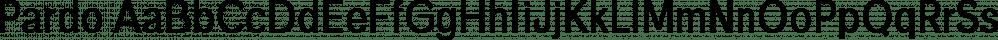 Pardo font family by Cappello Designs