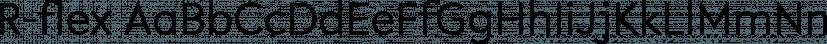 R-flex font family by VType