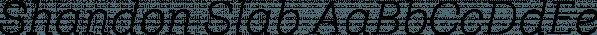 Shandon Slab font family by Hoftype
