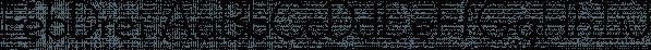 FebDrei font family by Ingrimayne Type