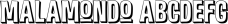 Malamondo font family mini