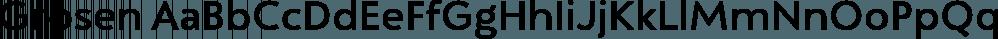Grosen font family by Hurufatfont Type Foundry