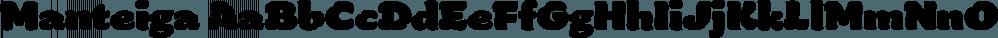 Manteiga font family by Plau
