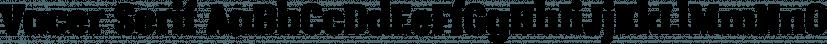 Vacer Serif font family by Måns Grebäck