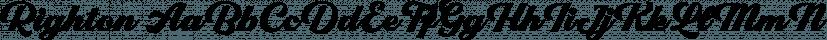 Righton font family by Letterhend Studio