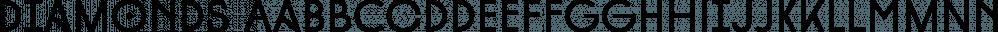 Diamonds font family by HVD Fonts