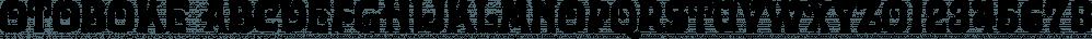 Otoboke font family by Typodermic Fonts Inc.