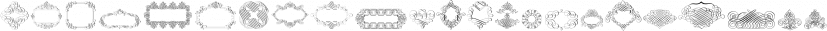 Calligraphia Latina Soft Five font family by Intellecta Design
