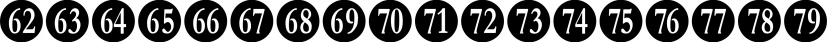 Numberpile font family by Typodermic Fonts Inc.