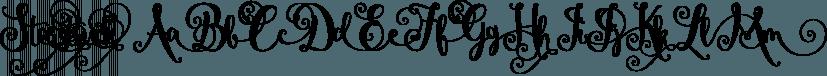 Starstruck font family by Emily Spadoni