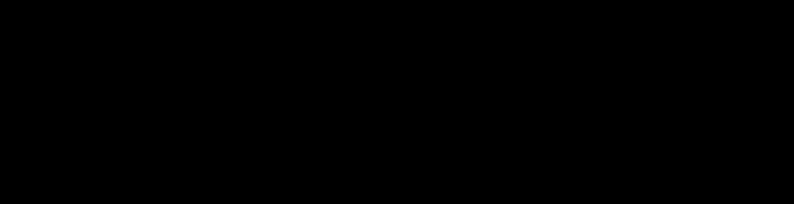 Tenby Stencil Font Specimen