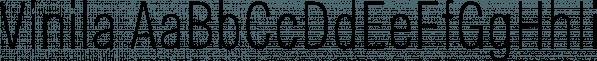 Vinila font family by Plau