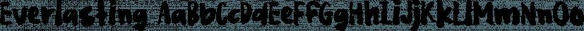 Everlasting font family by Bogstav