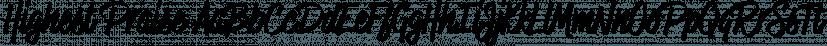 Highest Praise font family by Adam Ladd