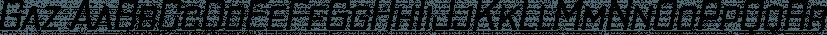 Gaz font family by Typodermic Fonts Inc.