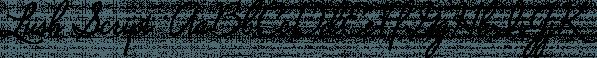 Lush Script  font family by Positype