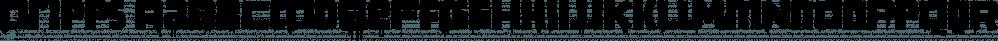 Dripps font family by Wiescher-Design