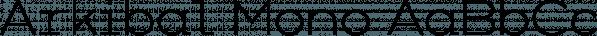 Arkibal Mono font family by JC Design Studio