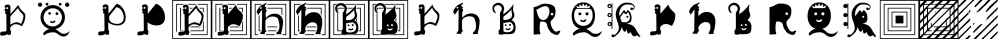 XPawnShop font family by Ingrimayne Type