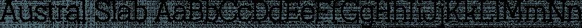 Austral Slab font family by Antipixel