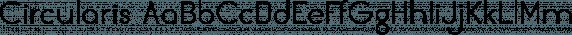 Circularis font family by JAF 34