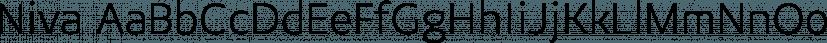 Niva font family by PeGGO Fonts