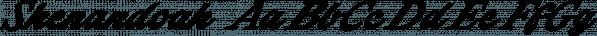 Shenandoah font family by Aring Typeface AB