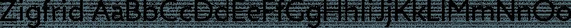 Zigfrid font family by BORUTTA