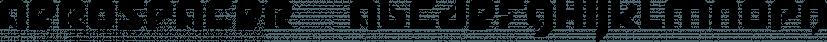 Aerospacer™ font family by MINDCANDY