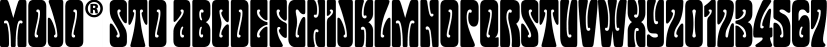 Mojo® Std font family by Adobe