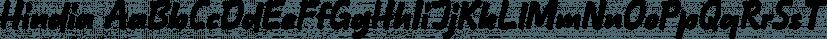 Hindia font family by Lafontype