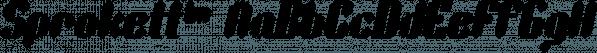 Sprokett™ font family by MINDCANDY