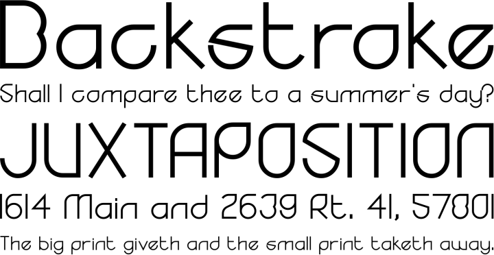 Yodo Font Phrases