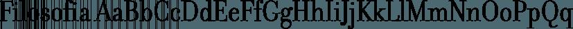 Filosofia font family by Emigre