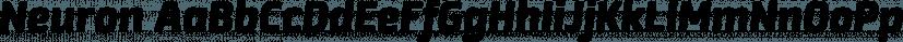Neuron font family by Corradine Fonts