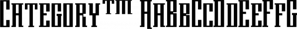 Category™ font family by MINDCANDY