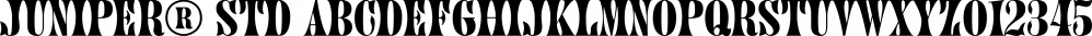 Juniper® Std font family by Adobe