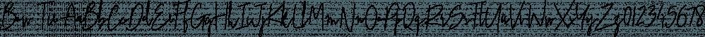 Bow Tie font family by Pedro Teixeira