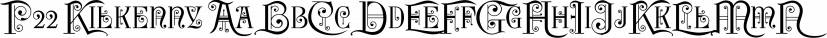P22 Kilkenny font family by International House of Fonts