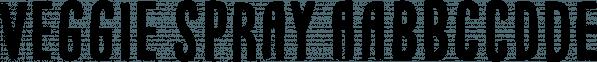Veggie Spray font family by Pizzadude.dk