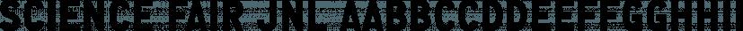Science Fair JNL font family by Jeff Levine Fonts