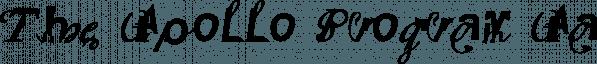 The Apollo Program font family by Emigre