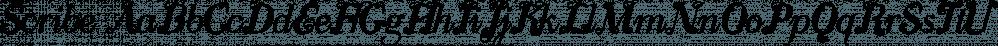 Scribe font family by Wiescher-Design