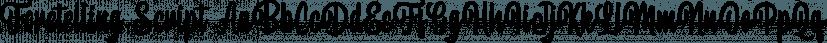 Foretelling Script font family by Letterhend Studio