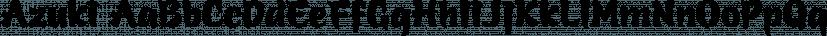 Azuki font family by Jess Latham