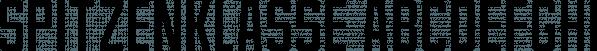 Spitzenklasse font family by Pizzadude.dk