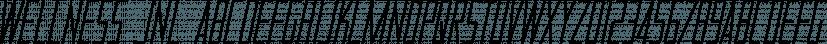 Wellness JNL font family by Jeff Levine Fonts